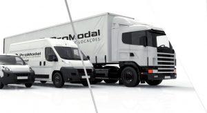 Locação de vans e caminhões
